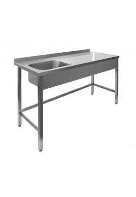 Darba galds ar 1 izlietni bez plaukta