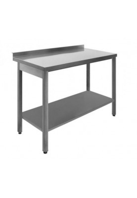Darba galds ar maliņu un apakšējo plauktu